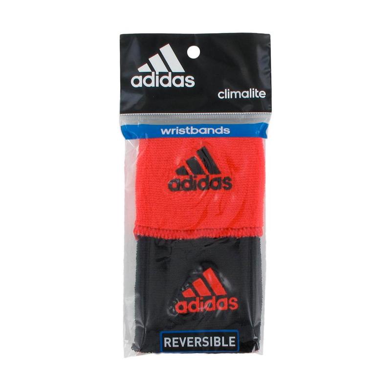 Escarchado insuficiente Inocente  Par muñequeras Adidas reversibles - Somos Tenis